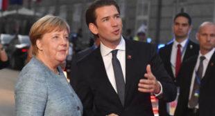 "Austrian Chancellor Sebastian Kurz Calls for ""Rejigging"" EU's Lisbon Treaty"