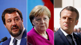 'We want nothing to do with you': Salvini says Merkel and Macron 'ruined' Europe
