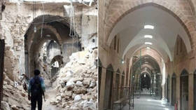 Rebuilding Aleppo: Before & after PHOTOS show reconstruction of key Syrian sites