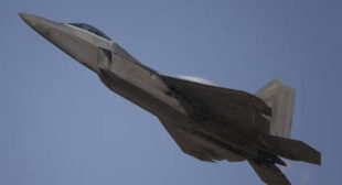 F-22 Stealth Coating Problems Revealed in Stunning Photo