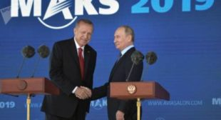 Russian President Putin and Turkish President Erdogan Hold Joint Press Conference – Video