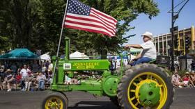 Trump bribing American farmers with taxpayer money to fix trade war damage – Prof. Richard Wolff
