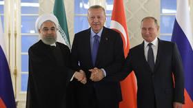 Iran's Rouhani joins Putin and Erdogan for Syria talks amid Saudi oil facilities attack debacle