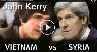 Vietnam John Kerry vs Syria John Kerry