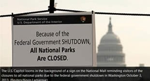 "Shutdown of US govt & ""debt default"": Dress rehearsal for privatization of federal state system?"