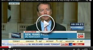 "Rand Paul Offers ""Glimmer Of Hope"" Amid Shutdown"