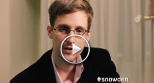 Edward Snowden's Not-So-Jolly Holiday Greeting