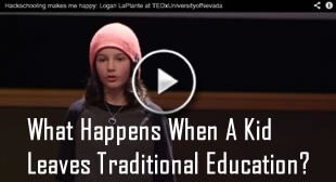 What Happens When A Kid Leaves Traditional Education?