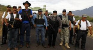 €‹Badges for vigilantes: Mexico gives anti-drug militias official status