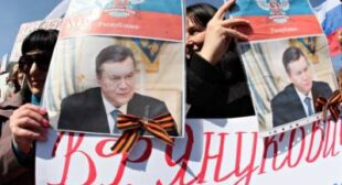 Ukraine: Donetsk's old Soviet faithful and young radicals look to Moscow