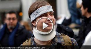 Oakland will pay $4.5 million to injured Occupy activist Scott Olsen