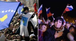 Facts only: Kosovo vs Crimea – 'Good Independence' vs 'Bad Referendum'