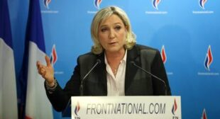 "French far-right leader opposes ""€˜EU demonization of Russia""€™"