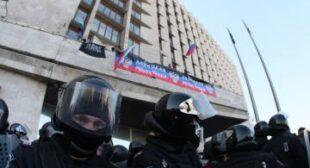 Pro-Russian protesters seize govt buildings in Ukraine's Donetsk, Lugansk and Kharkov