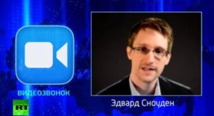 Snowden asks Putin LIVE: Does Russia intercept millions of citizens