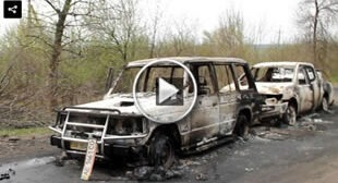 """""""Easter truce""""€™ broken: Five deaths reported in overnight checkpoint raid in E. Ukraine"""
