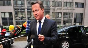 "Cameron says Brussels ""€˜too big and too interfering""€™ in wake of EU elections"