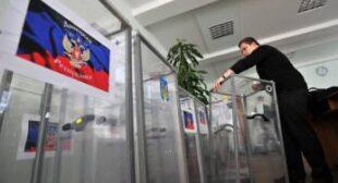 Lugansk and Donetsk regions vote for self-determination