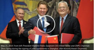 €‹Russia and China seal historic $400bn gas deal