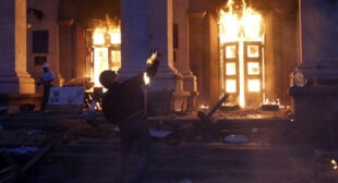 Avoiding facts? MSM uncertain who is behind deadly Odessa blaze