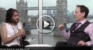 'Make us poor, then shoot us': Russell Brand talks austerity & revolution with Max Keiser