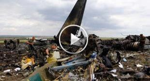 49 Ukrainian troops killed as transport plane downed in Lugansk (PHOTOS, VIDEO)