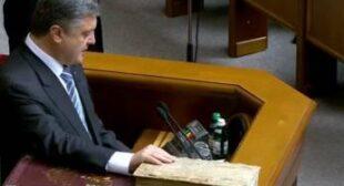 Poroshenko sworn in, but can he steer Ukraine away from abyss?