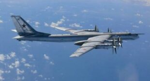 Russian nuclear-capable bombers intercepted off California coast