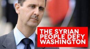 Assad Wins Syrian Elections by a Landslide – International Observers Claim No Violations – Washington Balks