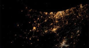 """""""Saddest photo yet"""": Astronaut photographs Gaza offensive from space"""