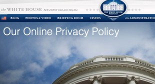 "White House tracking website visitors with online ""fingerprinting"""