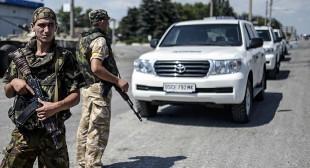 No ammunition moved through Russia-Ukraine border – OSCE monitors