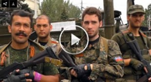 'United Continent': European volunteers fighting Kiev troops in Eastern Ukraine