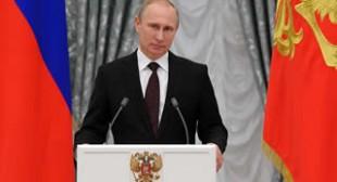 Putin calls on Ukraine militia to let blocked Kiev troops to cross into Russia
