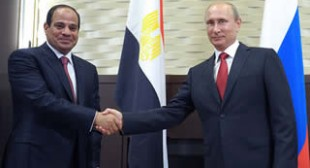 Russia to boost trade with Egypt after Western food ban