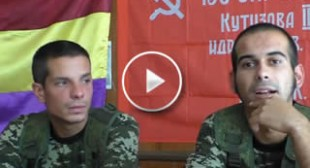'Spreading the truth': Spanish volunteers join fight against Kiev in E. Ukraine (VIDEO)