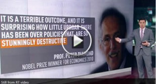 Nobel prize winners: Eurozone recovery is 'dismal failure'
