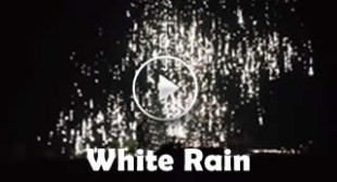 """White rain"": Donetsk residents record alleged phosphorus shelling (VIDEO)"