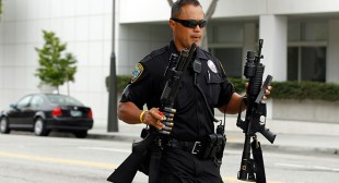 Dozens of police departments suspended for losing US military-grade weaponry