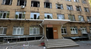 4 killed, 18 injured as hospital, residential area shelled in Donetsk, E. Ukraine (PHOTOS, VIDEOS)