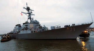 """""""Promoting peace and stability"""": NATO warships enter Black Sea"""