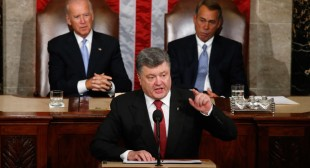Poroshenko urges US to provide Ukraine with 'lethal military equipment'
