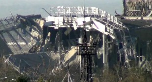War-torn Donetsk airport reminds of Chernobyl wasteland (PHOTOS, VIDEO)