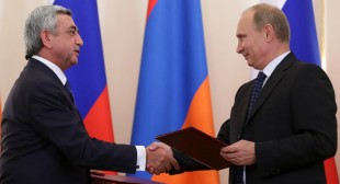 Armenia chooses Russian trade deal over EU