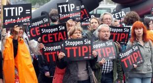 NoToTTIP: 1,000s to march in UK, across Europe against transatlantic trade deal