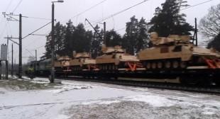 Move your arsenal! US tanks, APCs, Humvees roll through Latvia (VIDEO, PHOTOS)