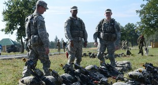 US military instructors deployed to Ukraine to train local forces