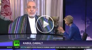 Kabul cabal? Ft Hamid Karzai, president of Afghanistan (2004-2014)