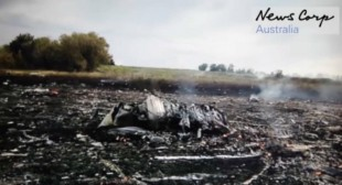 """Was there a 2nd plane?"" New footage shows MH17 crash site minutes after Boeing downing"