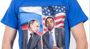 French MP visiting Crimea buys T-shirt that says 'Obama, you're a schmuck'
